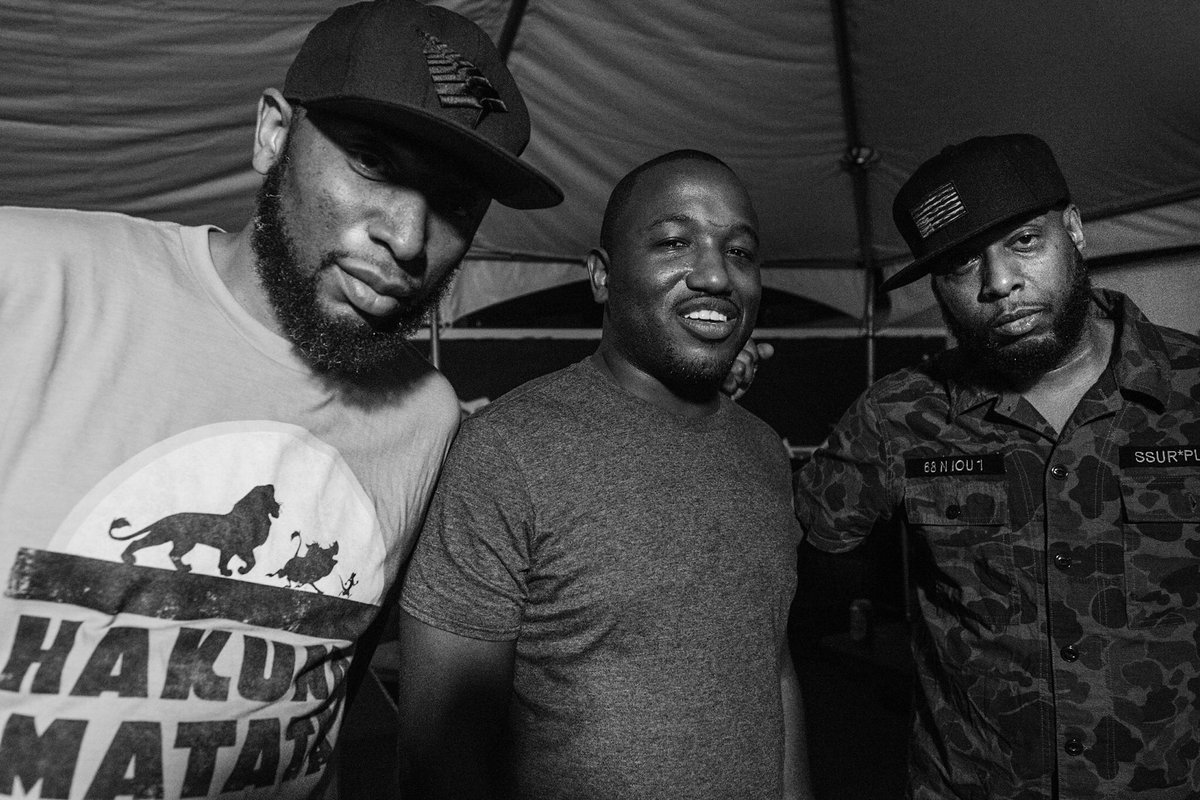 #Froto @9thwonder @hannibalburess @TalibKweli during @Moogfest #CultureCaptureChamp ®™© #Frolab https://t.co/14NF8lNDrW