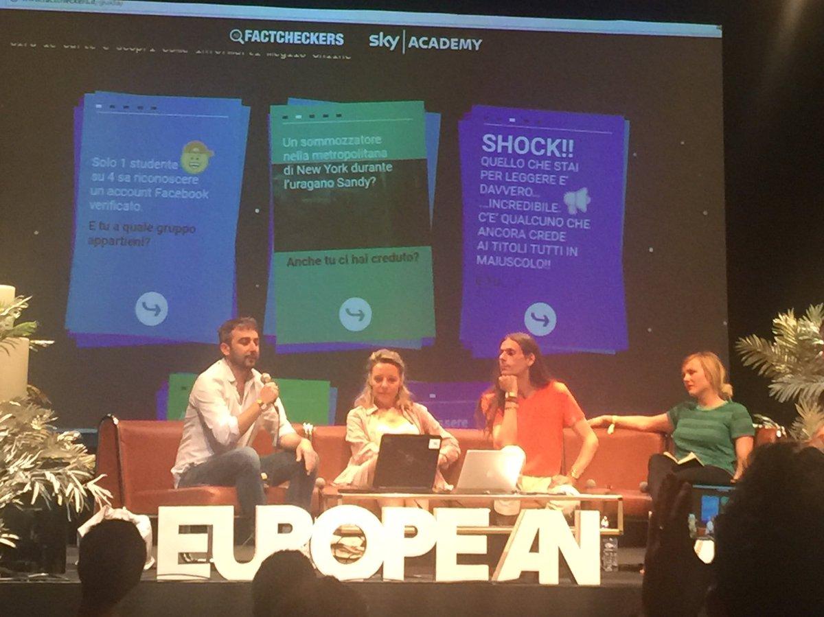 Un outil pour apprendre aux jeunes à identifier les #fakenews @nicolabruno #eurolab2017  @factcheckers_it