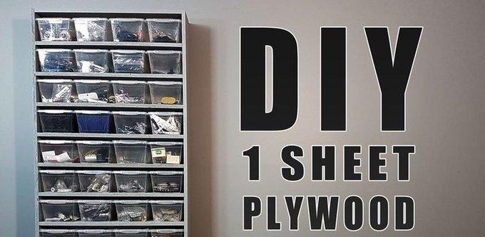 Cómo hacer una estantería casera de madera para organizar tu taller