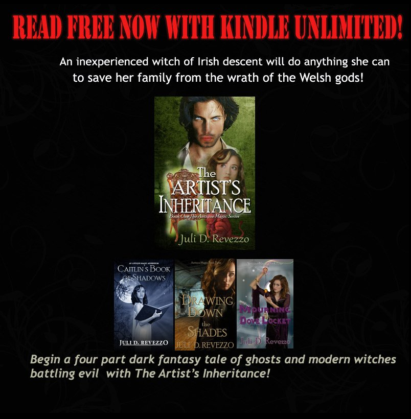 Caitlin learns the truth of what a #witch can do THE ARTIST'S INHERITANCE  http://www. smarturl.it/x7pznq  &nbsp;   #paranormal #fantasy #Free w/ #KU #IARTG<br>http://pic.twitter.com/MUKQeNMh3Z
