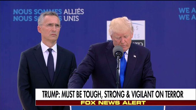 .@POTUS: 'If NATO countries made their full and complete contributions then NATO would be even stronger than it is today.'