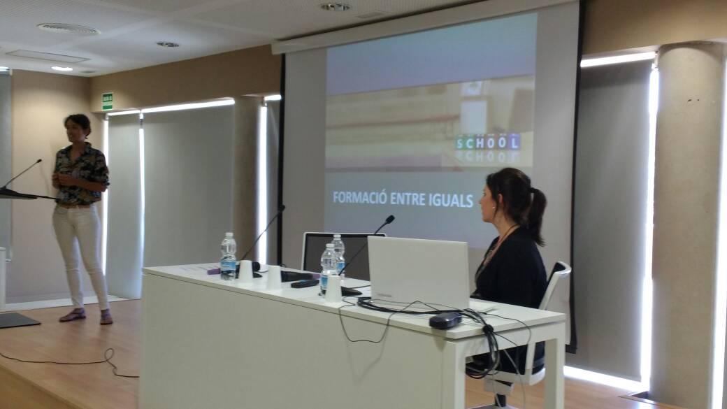 Segon dia de les jornades #compartimeivissa amb l'experiència de formació entre iguals de l'EOI d'Eivissa. https://t.co/j9PpdrPJWI