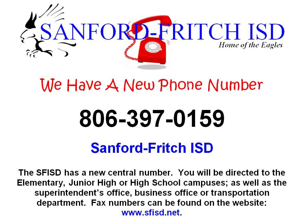 Sanford-Fritch ISD (@SFISD)   Twitter