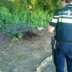 @BarendrechtnuNL - Klein brandje thv de #Ekster bij het station. Omwonende heeft geblust met een emmertje water. Drie scootertjes er vandoor. #Barendrecht https://t.co/cC8rWTXsua