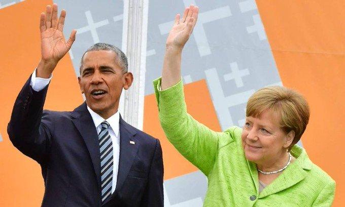 Obama é recebido como estrela em Berlim e critica muro de Trump. https://t.co/3CxXCFDvmL
