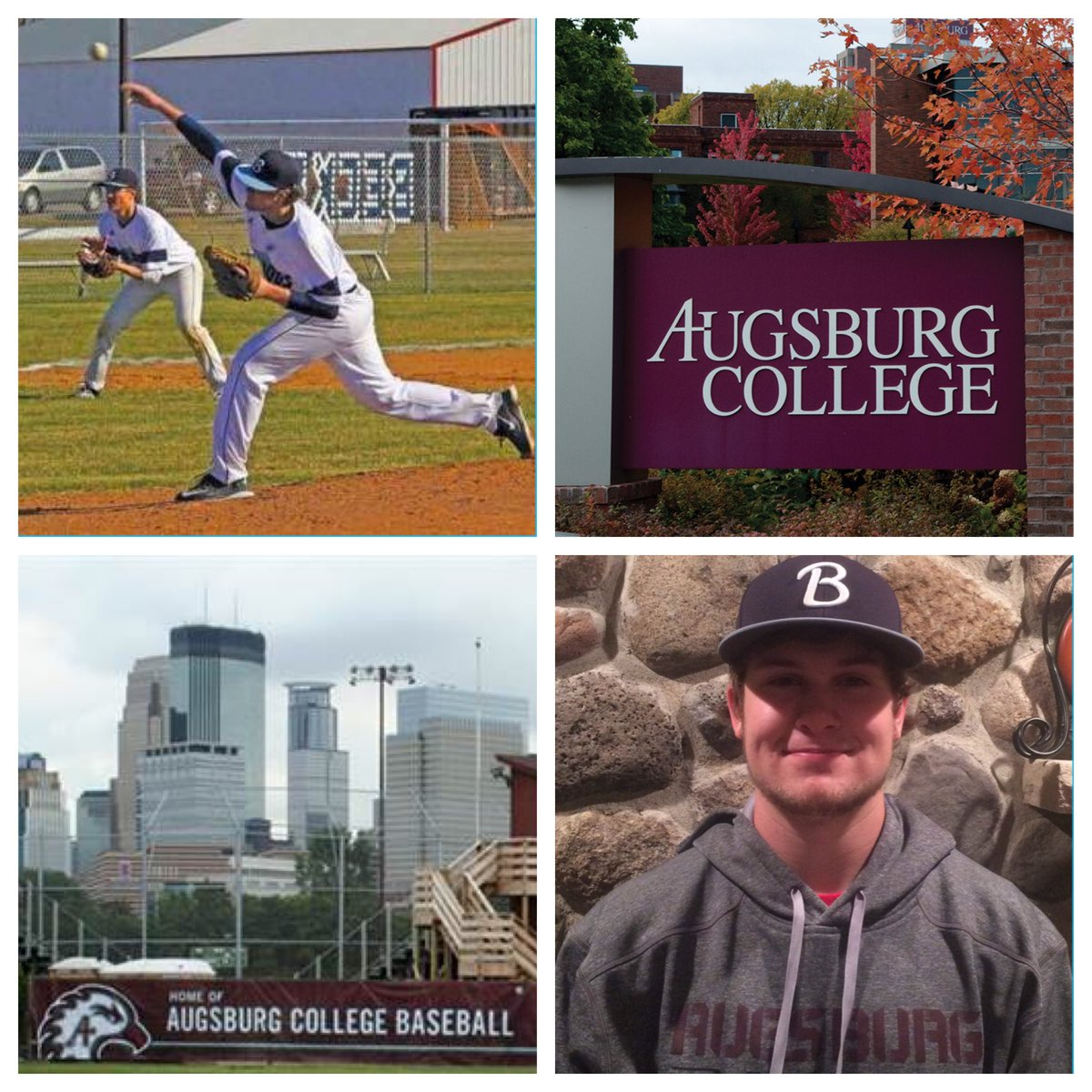 Welcome Kendal Hanson from Becker to the Augsburg College Baseball Family!! #FER #auggiepride https://t.co/YAND59ZA8u