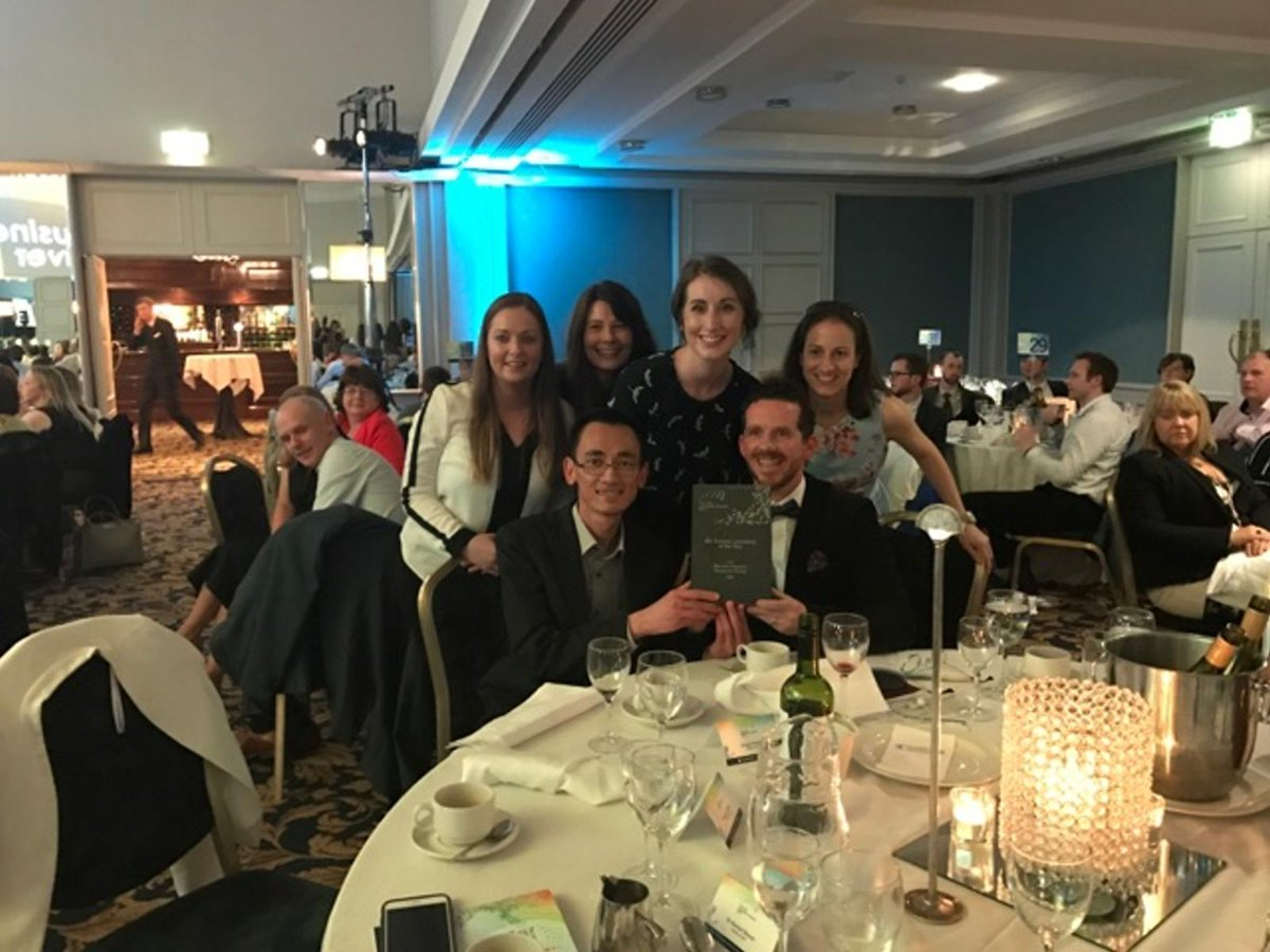 Well done to all the Macular Research Group Team @ WIT on winning the Bio Science Lab of the Year #IrishLabAwards <br>http://pic.twitter.com/ae3TIBsEtc