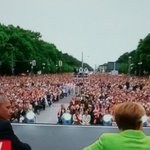 @zackbeauchamp Hey PIG #DonaldTrump WATCH a REAL LEADER! #nato #BarackObama Gets Rock-Star Welcome in #Berlin with Massive Crowd