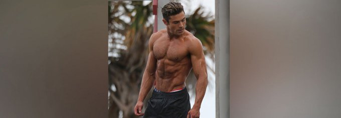 .@ZacEfron's transformation has shocked Hollywood. https://t.co/gMYJaRss1r