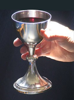 On #NationalWineDay, lets remember the wine that becomes the drink of eternal life...