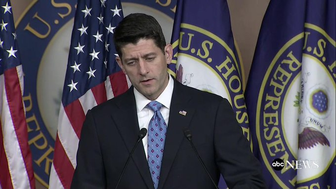 .@SpeakerRyan says he thinks Gianforte should apologize: 'There's no call for this.' https://t.co/pTVd9p32bl