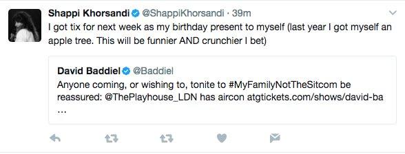 Thanks @ShappiKhorsandi. Can't absolutely promise crunchier. https://t.co/sO6Dj4ijL3