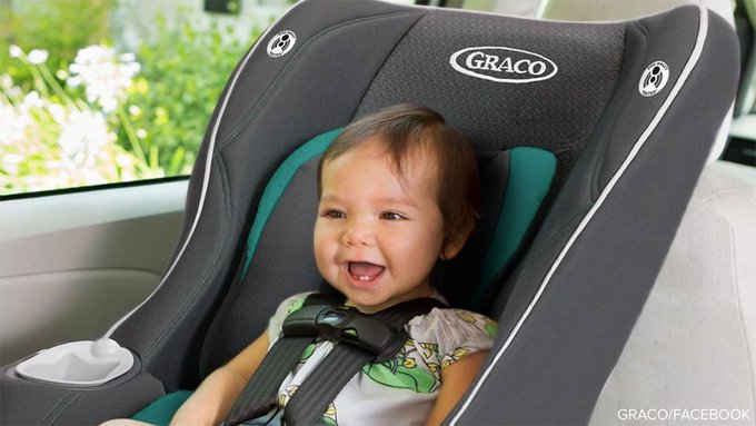Graco recalls more than 25,000 car seats over concerns harness webbing might not hold child in crash. https://t.co/73YlIMPMiY