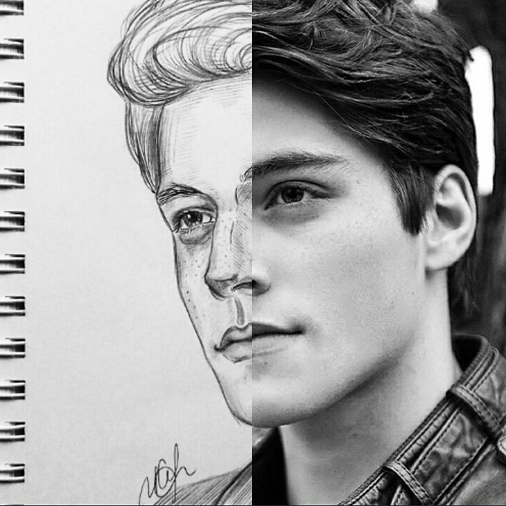 3 part  @froy #drawing #art #sketch #portrait <br>http://pic.twitter.com/etdIp2s76t