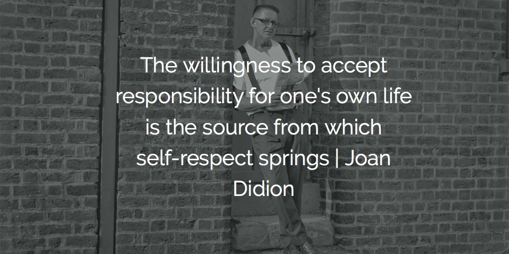 joan didion on self respect Slouching towards bethlehem: essays (fsg classics) [joan didion] on amazoncom free shipping on qualifying offers the first nonfiction work by one of the most distinctive prose stylists of our era, joan didion's slouching towards bethlehem remains.