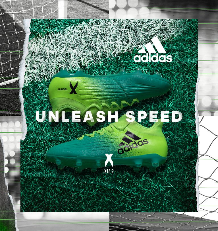 Inject your game with speed. The adidas Turbocharge X16.2. Pure chaos. #neverfollow.  &gt;&gt;&gt;  https:// goo.gl/gBHjWz  &nbsp;  <br>http://pic.twitter.com/FcBF3vWlPa