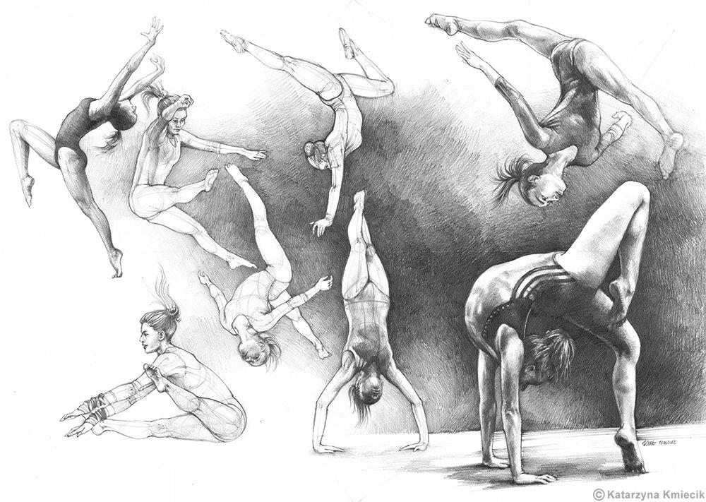 Human figure study I&#39;ve made back in 2012. Please #ReTweet  #gymnastics #figuralart #sketch #pencil #drawing<br>http://pic.twitter.com/5raJ4wu7G9