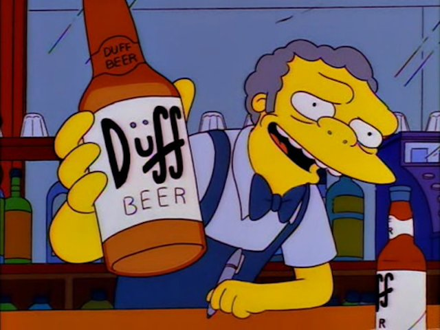 I'd say happy #NationalWineDay, but we only serve Duff around here. #TheSimpsons https://t.co/0vrbnl91Ia