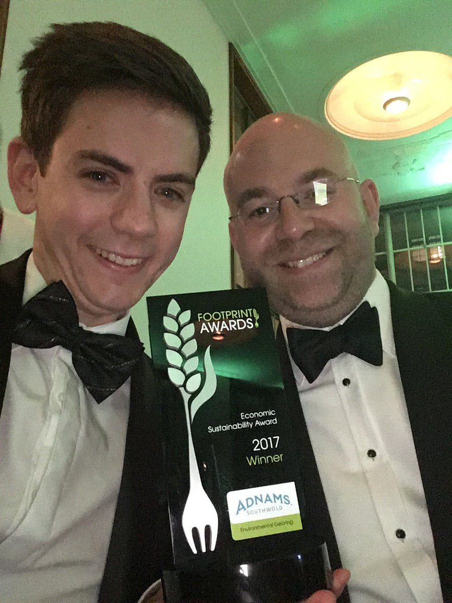 WINNERS! Yes! @Adnams recognised with the #EconomicSustainabilty award for our #Environmental #Gearing at @footprintmedia #FootprintAwards17<br>http://pic.twitter.com/USk4nkI3RQ