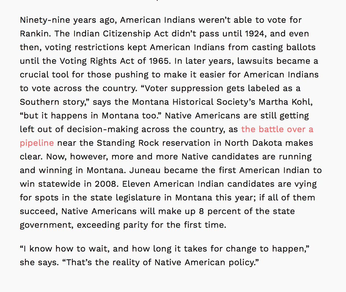 """""""Voter suppression gets labeled as a Southern story, but it happens in Montana, too."""" Revisi @j_fullert 's reporhttps://t.co/caadkKyB0qt."""