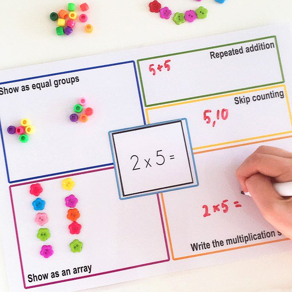 Help Kids Learn Multiplication with These Strategy Mats
