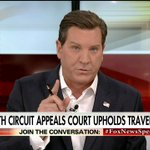 """.@ericbolling: """"The 4th Circuit Court of Appeals today made @POTUS's ability to keep America safe that much harder."""" #FoxNewsSpecialists"""