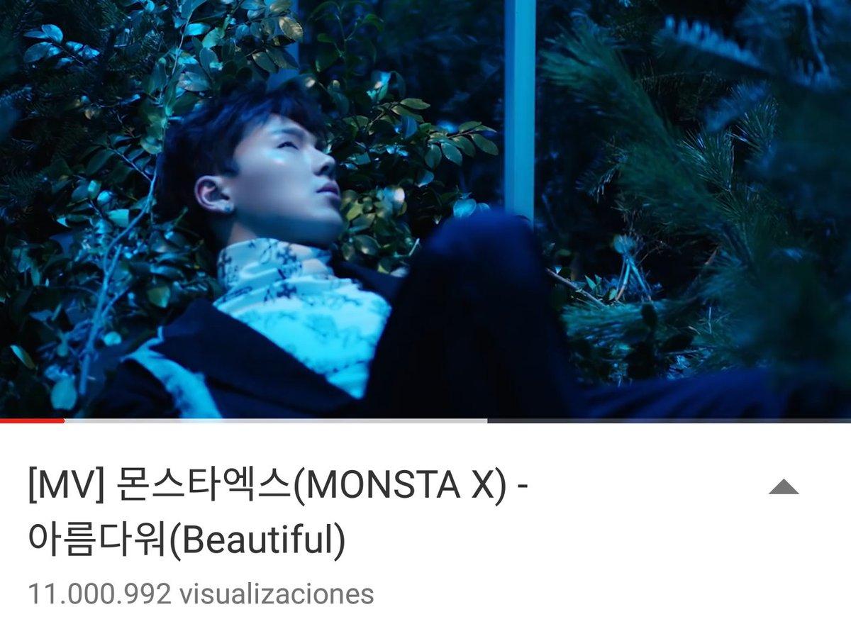 We passed 11M views on Beautiful MV. Good Job Mbb!  #Monstax #Beautiful  <br>http://pic.twitter.com/BBBqzObzpR
