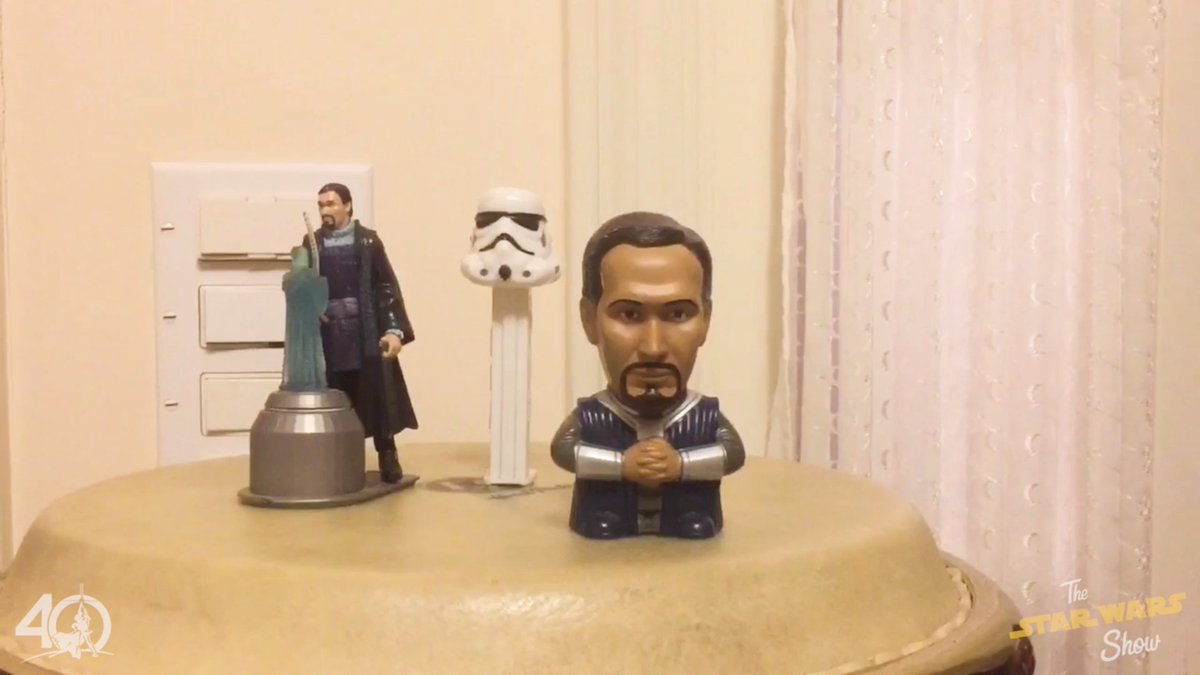 Here's how Jimmy Smits (Bail Organa) celebrates #StarWars40th birthday...