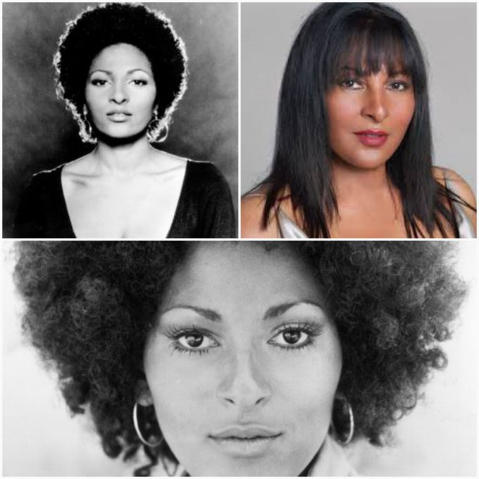 Celebrating the beautiful, iconic Pam Grier. Happy birthday.
