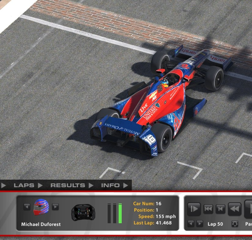 That's what I call an Alexander Rossi win! : simracing