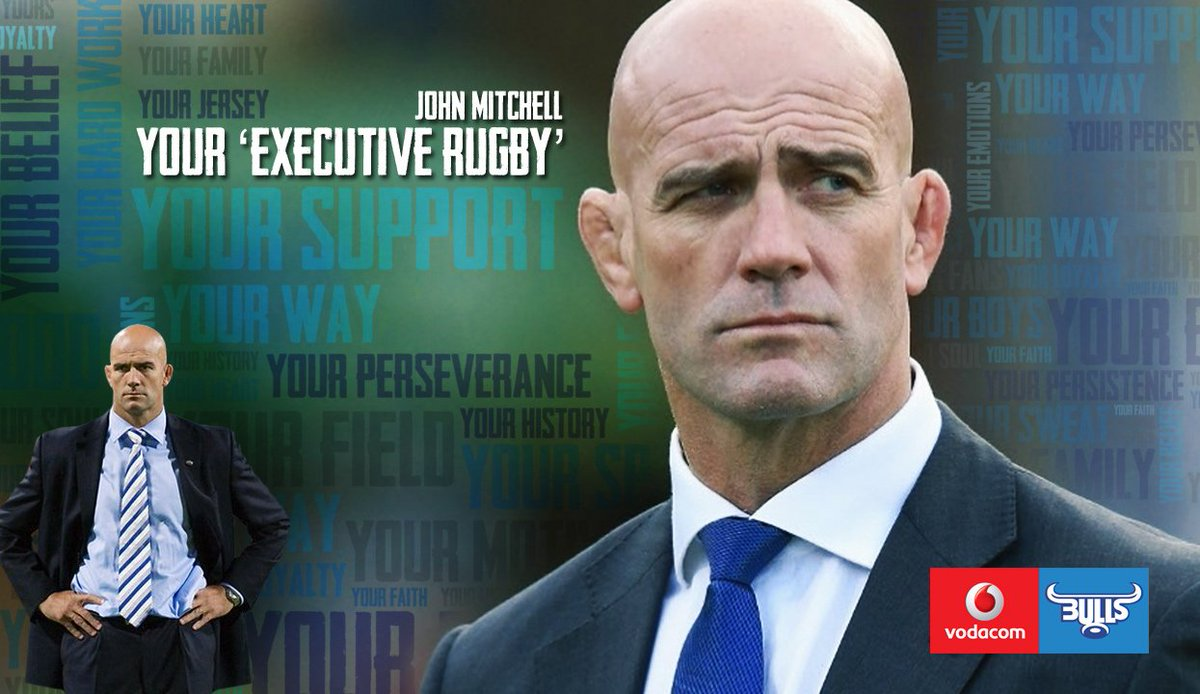 The Blue Bulls Company would like to welcome John Mitchell to the #BullsFamily  https://t.co/Gh6NCJqfM7 https://t.co/bYnn9Y5aBF