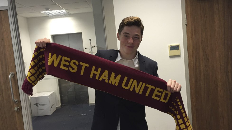 a2b04b6ae7e1a Promising midfielder 17 year old Conor Coventry has signed his first  professional contract with West Ham United. Good luck Conor. dgpic.twitter. com  ...