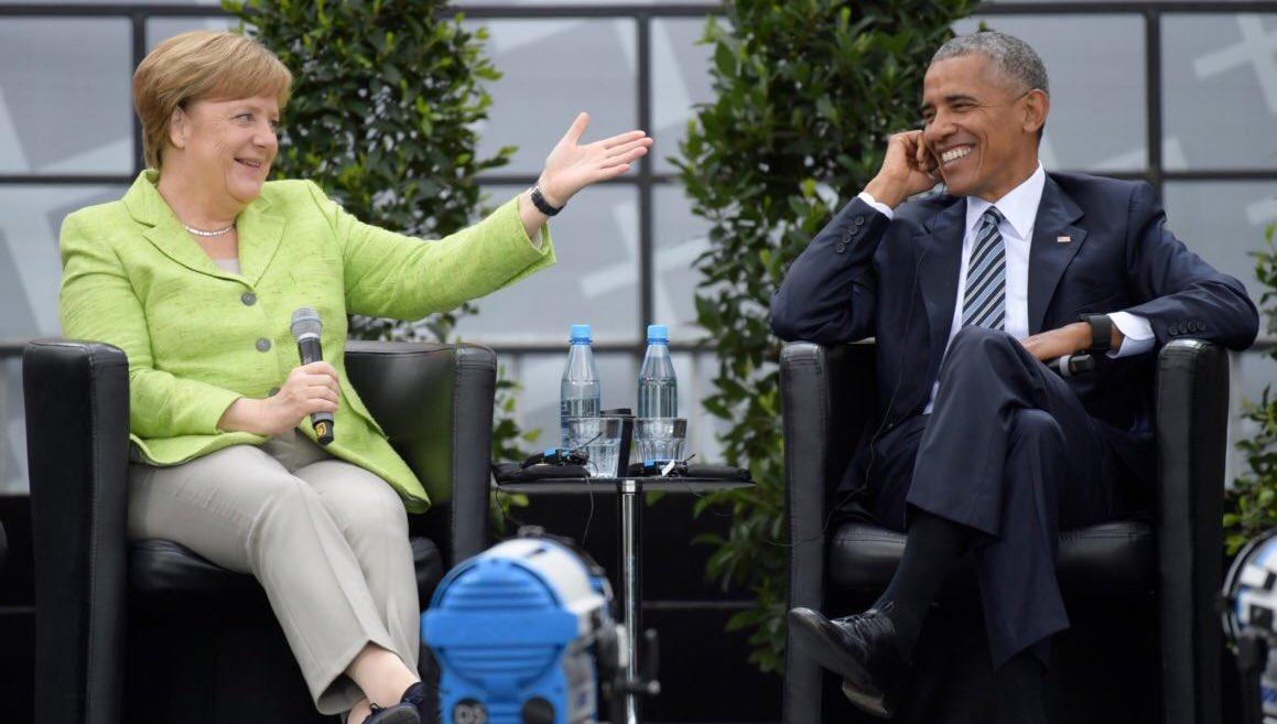 True Leadership &amp; Russian Collusion free. #Merkel #PresidentObama<br>http://pic.twitter.com/UYVbxP2rk7