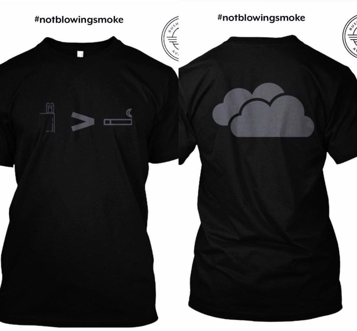 fresh shirt! #vape #vapelife #vape #vapenation #vapesociety #notblowingsmoke #shirts #clothing #RETWEEET  http:// bit.ly/2qTwWPe  &nbsp;  <br>http://pic.twitter.com/pkBQx8Rwn3
