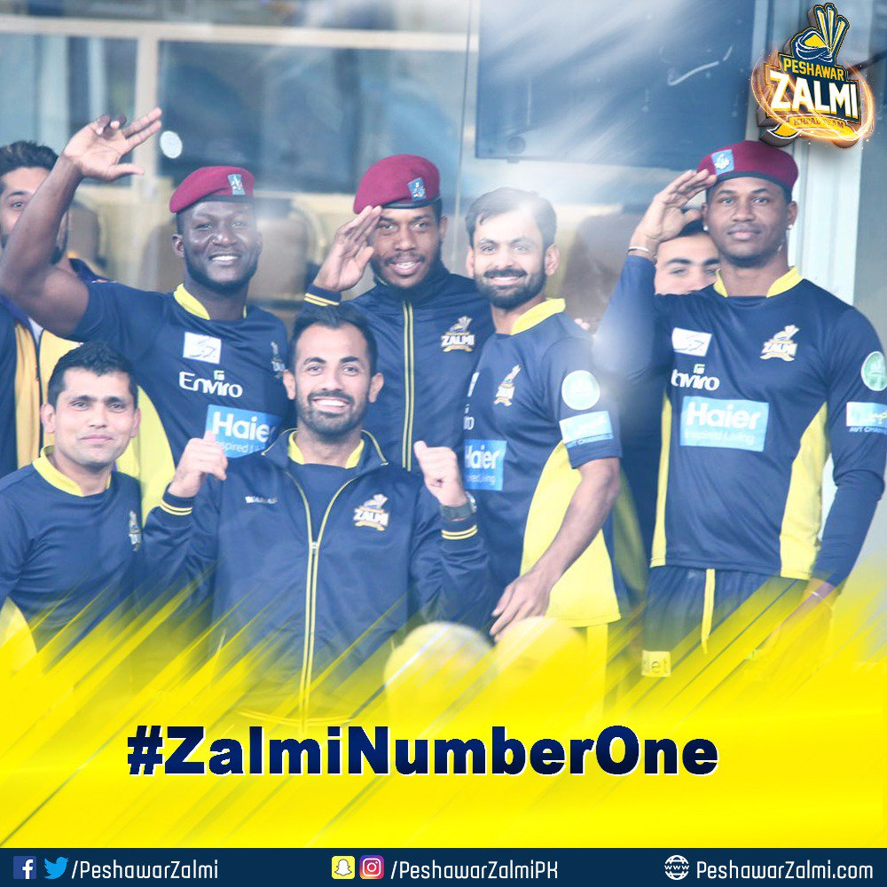 test Twitter Media - Entire Pakistani nation salutes our foreign players for coming to Lahore for PSL final & making us proud. Thank you Champs #ZalmiNumberOne https://t.co/cGqP7iqtpM