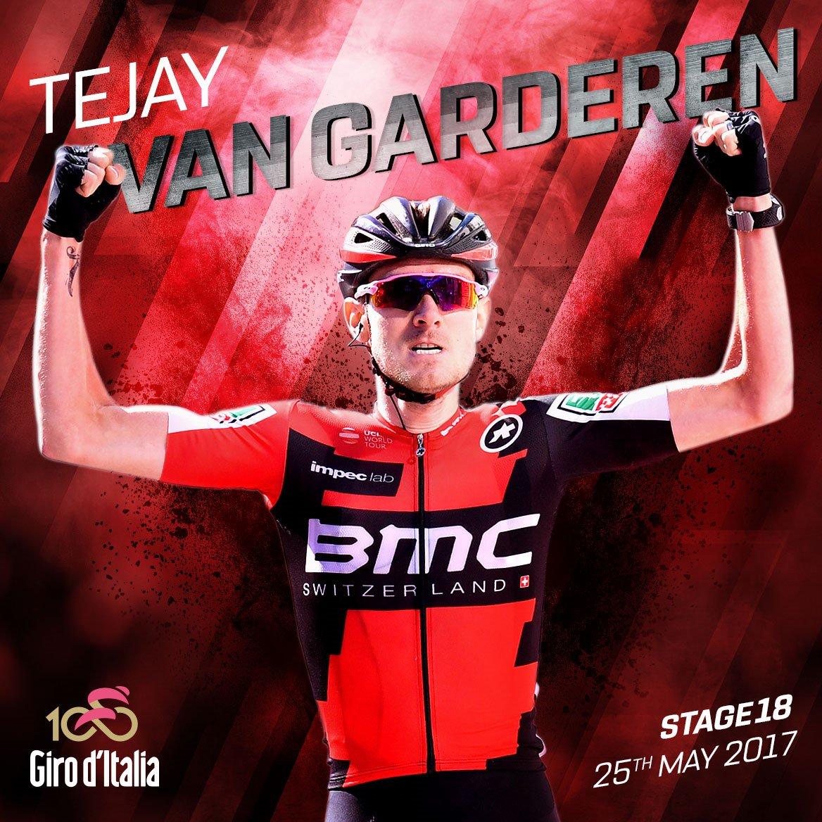 Giro d'Italia 2017: Van Garderen vince all'arrivo di Ortisei. Nibali e Quintana controllano Dumoulin Maglia Rosa
