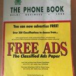 Pourquoi j'avais conservé depuis 1999 l'annuaire téléphonique de New Delhi - Anecdote indienne https://t.co/JbEq5wzI3i