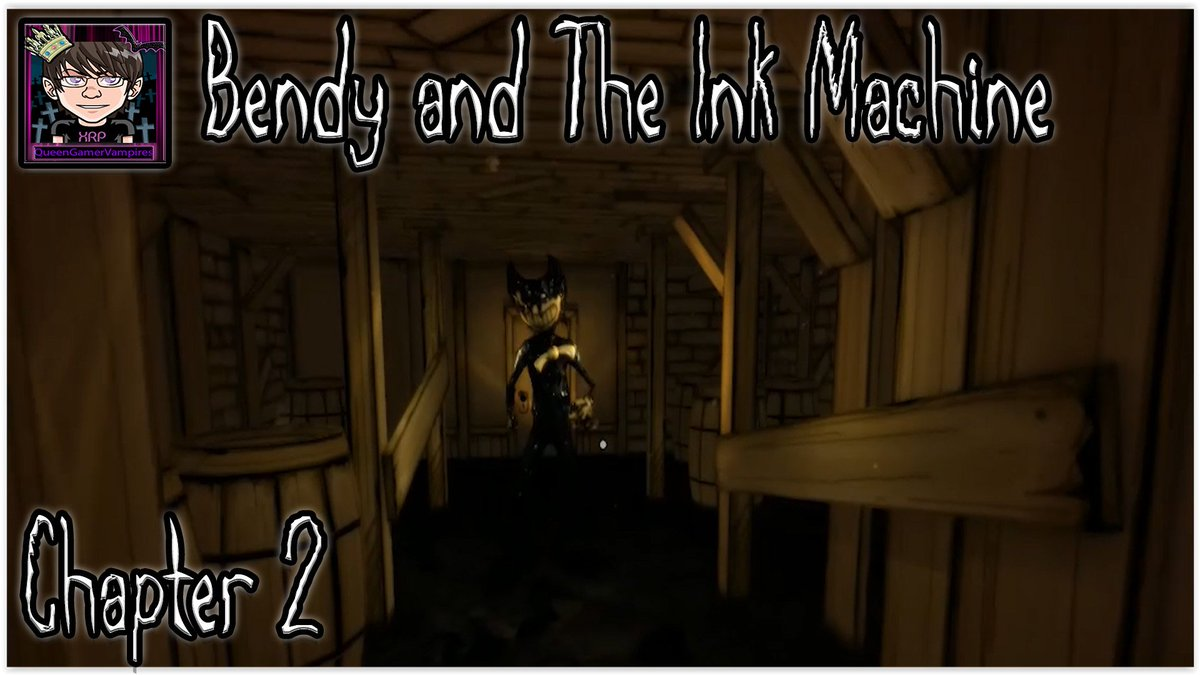 Chapter 2 of Bendy and the ink Machine. Let us see how this adventure turns out.  https:// youtu.be/Qx483CP9ldY  &nbsp;   #Indiegame #horror #Indie<br>http://pic.twitter.com/8AjBXIeSMf