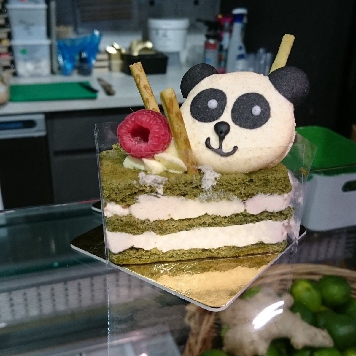 When you go to @oisoifood for noodles but instead come out with a panda!  #abiatoisoi #sheffieldissuper #sheffieldfoodfestival #patisserie <br>http://pic.twitter.com/aAH7mbu2jk