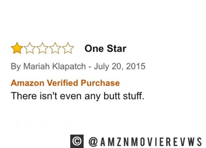 Amazon Movie Reviews On Twitter Fifty Shades Of Grey