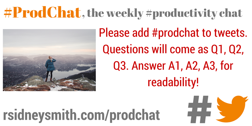 Please add #prodchat to tweets. Questions will come as Q1, Q2, Q3. Answer A1, A2, A3, for readability! https://t.co/siAZF1DJgm