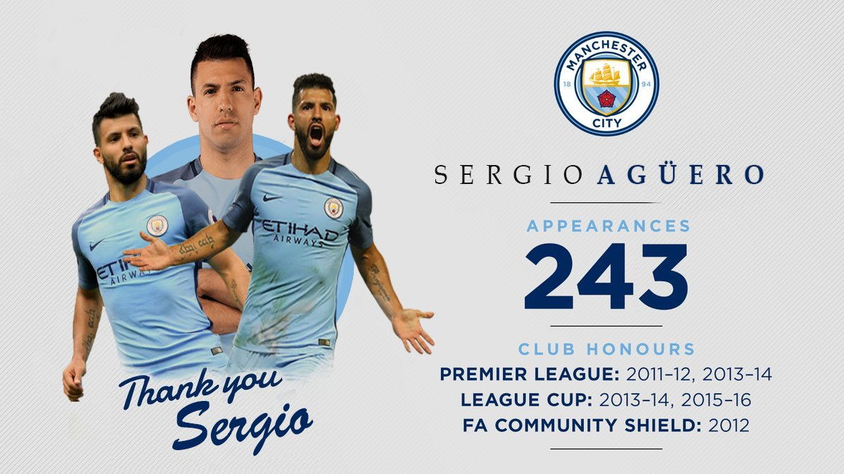 .@aguerosergiokun is set to leave #mcfc. #ThankYouSergio  More   http:// bit.ly/2rVwfmj  &nbsp;  <br>http://pic.twitter.com/GCu1GEQO28