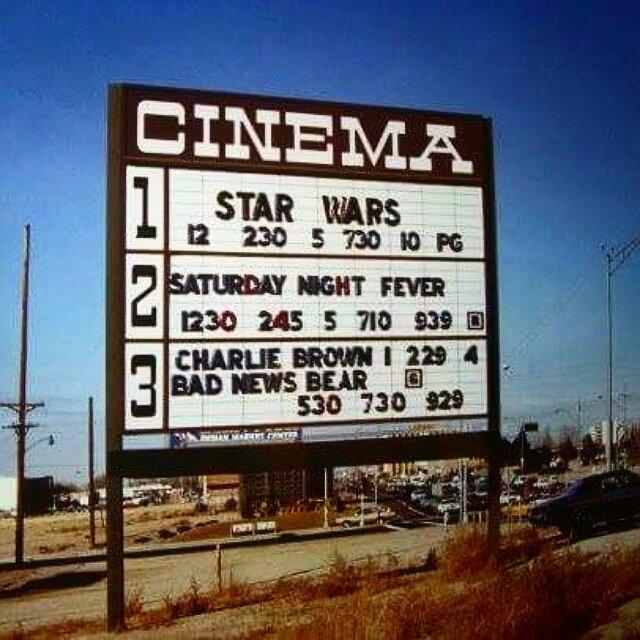 Oh, what a time it was. #starwars40th #StarWars40 #StarWars #TheLastJedi #movies #70s #70sMovies #maytheforcebewithyou<br>http://pic.twitter.com/buvJb5dPLu