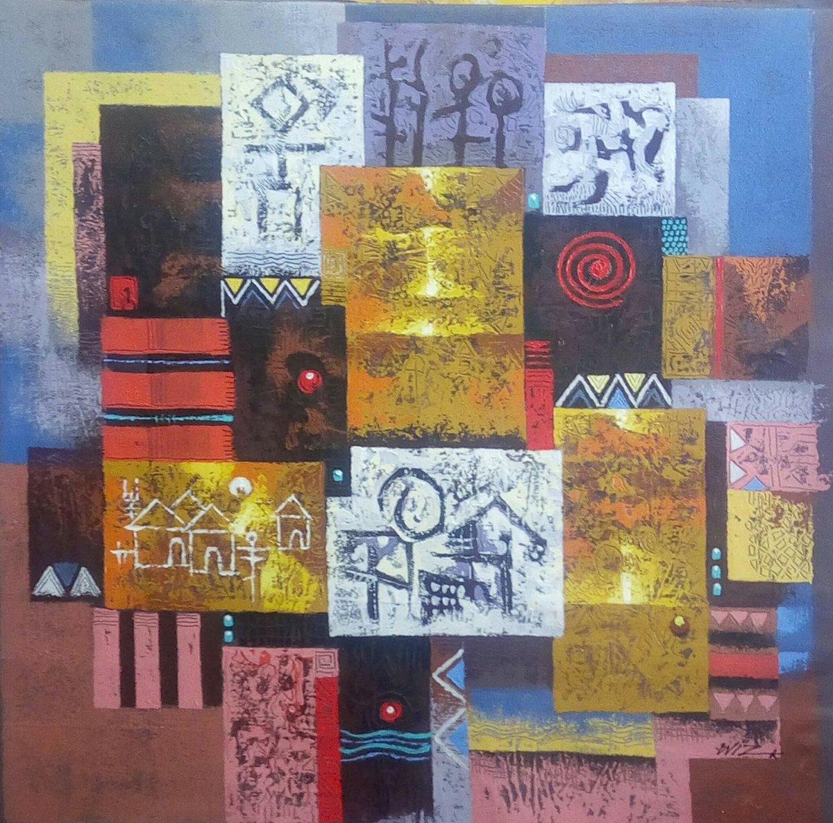 Yoro On Twitter Wiz Kudowor Artiste Peintre Ghana Quand L Art