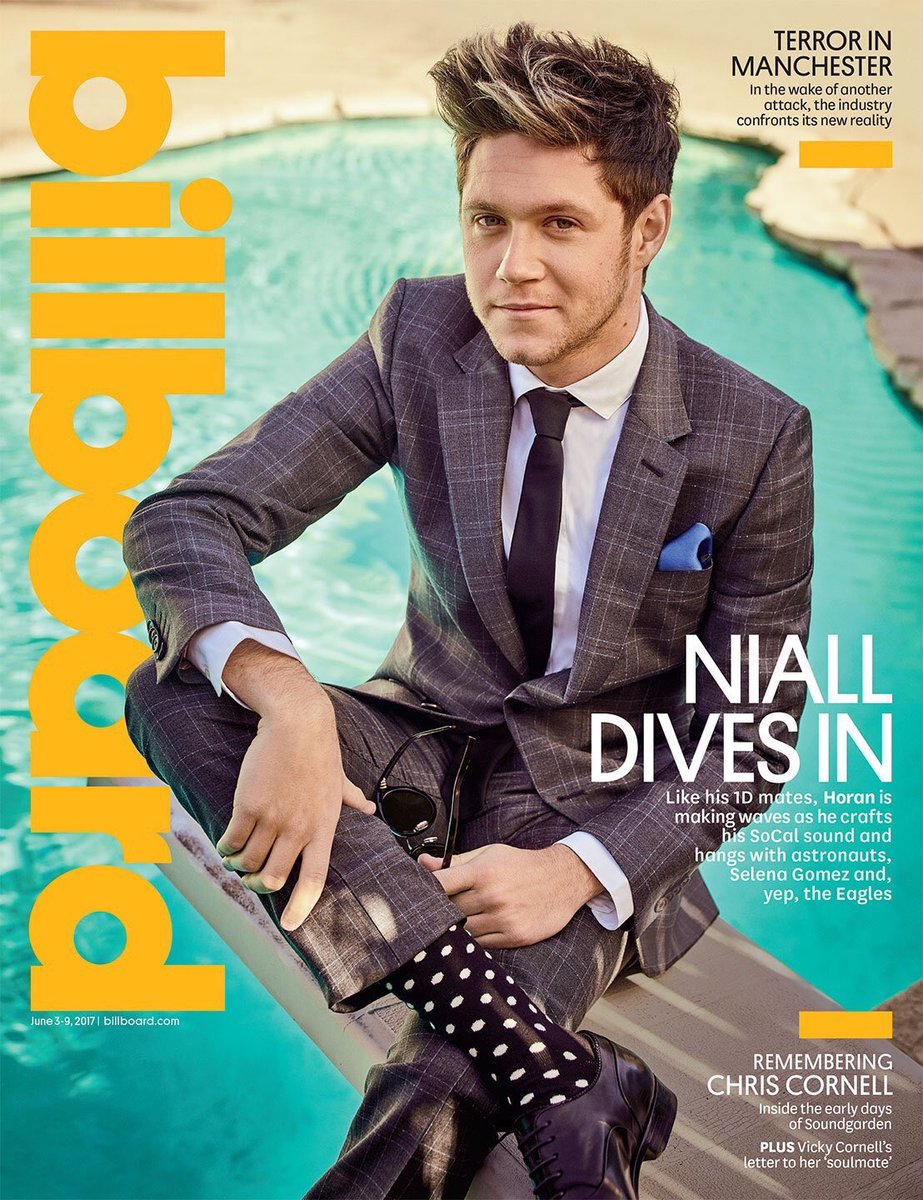 Niall on the cover of Billboars magazine!!!  #NiallHoran #Niall #Horan #ThisTown #SlowHands<br>http://pic.twitter.com/Gi8ICvEdB8