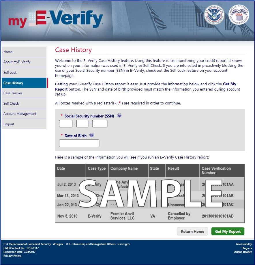E Verify Program >> Uscis E Verify On Twitter Employees Use Case History To View