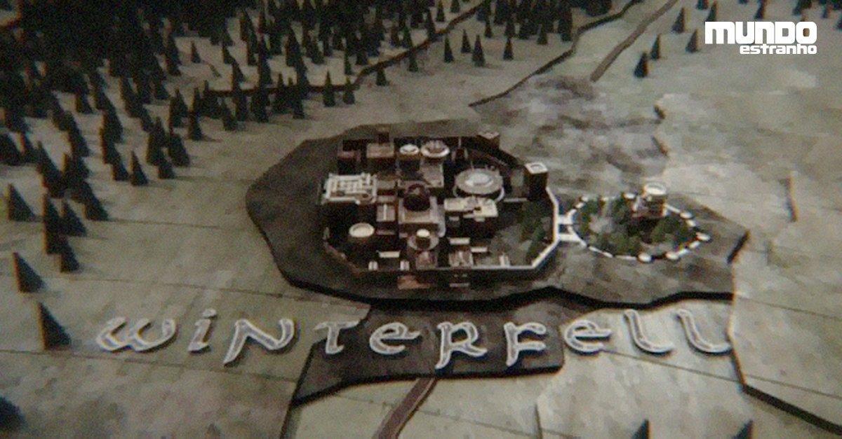 """Infográfico: Como é o mapa de Winterfell, de """"Game of Thrones""""? https://t.co/25iiOAKdNx #DiaDoOrgulhoNerd"""