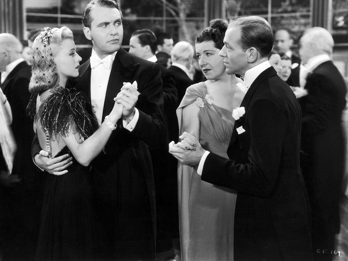 Tcm On Twitter Remembering Ralph Bellamy On His Birthday Here With Ginger Rogers Louella Gear And Fred Astaire In Carefree 38