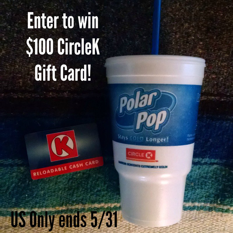 Enter to #win $100 CircleK gift card  http:// bit.ly/2pCb8HX  &nbsp;   @Something2Offer #giveaway #summer #PolarPopCup4Life #Sweepstakes<br>http://pic.twitter.com/YAyoYGYO7B