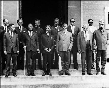 The founders of the #OAU in #formation, 25 May 1963. A luta continua #PanAfricanist #AfricanNationalist #AfricaDay<br>http://pic.twitter.com/dotabGbfre